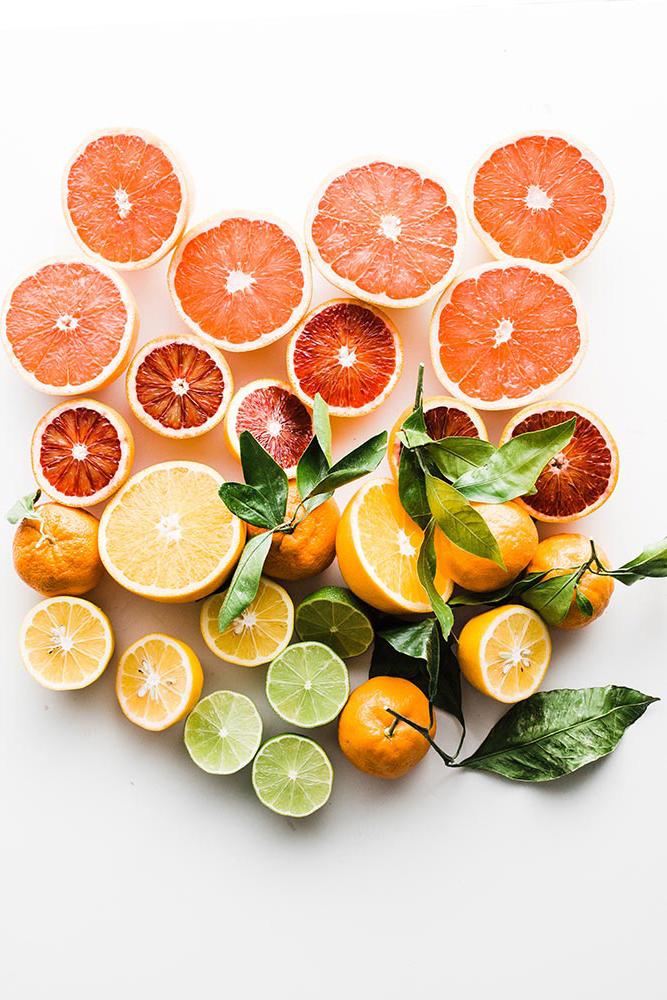 Toranjas, laranjas, limoes e limas