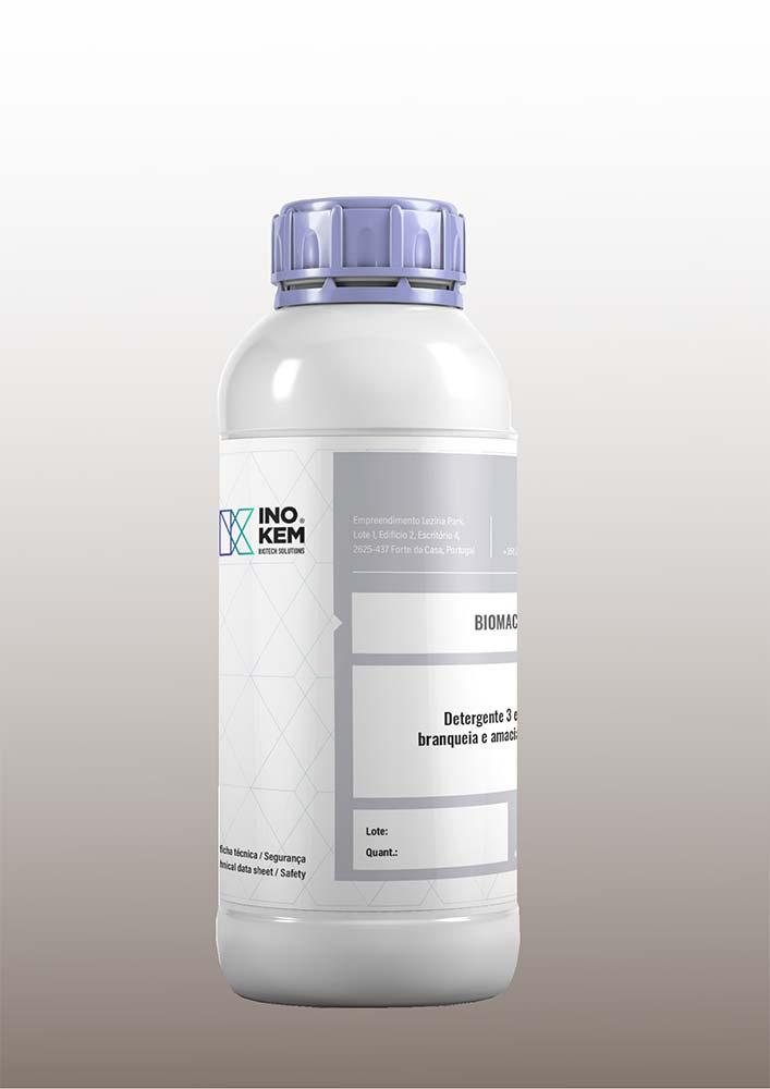 Detergente biodegradável Biomach Super, da Inokem