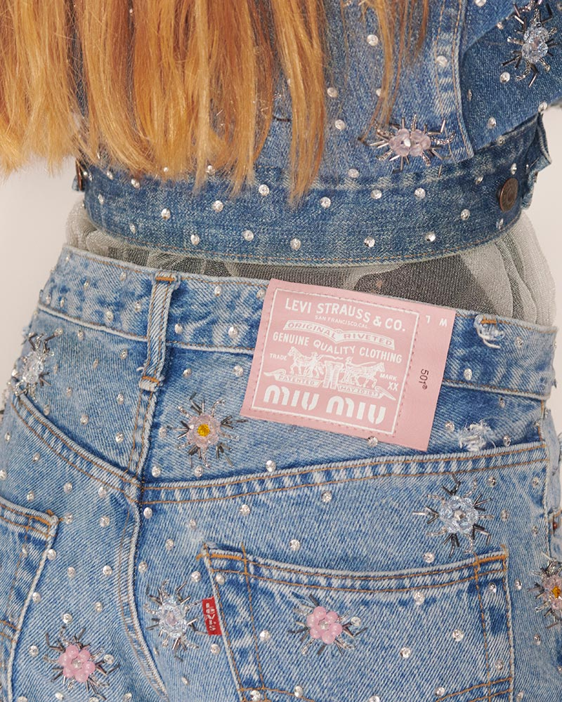 Upcycled by Miu Miu x Levi's | Photo: Johnny Dufort