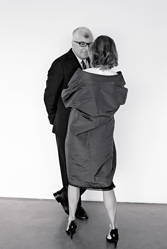 Miuccia Prada e Fabrizio Bertelli | Photo: Brigitte Lacombe